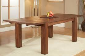 Extended Dining Table by Acacia Wood Clifton Dining Table Extendable Apt2b