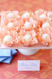 Floral Food by Diy Flower Truffle Favors Pizzazzerie
