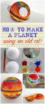 how to make a small teaching tuesday how to make a planet with an old cd fun