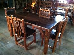 best log dining room tables in ikea table and chairs trends