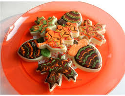 666 best cookies fall images on fall cookies