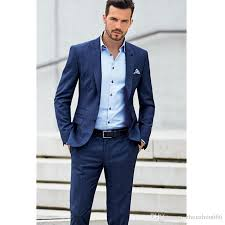 wedding men 2018 blue suit men s wedding suits of cultivate one s morality