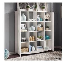 16 cube bookcase display cubby shelf storage accent room shelves