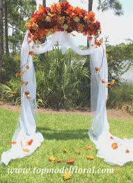 wedding arches decorated with flowers best 25 fall wedding arches ideas on outdoor wedding