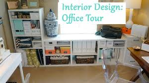 Design Office Interior Design Office Tour U0026 Decor Tips Youtube