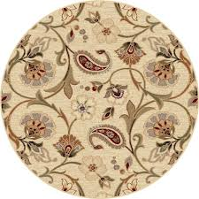 Yellow Round Area Rugs Floors U0026 Rugs Red Floral Handmade Round Area Rugs For Modern