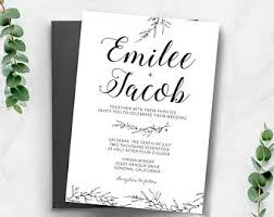 wedding invite wedding invitations etsy ca