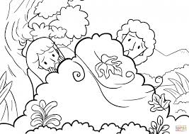 adam eve coloring pages children tags adam eve