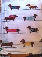 Berkshire Opulence Blanket Dachshund Blanket Ebay