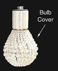 decorative light bulb covers beaded bulb cover 21930 b p l supply