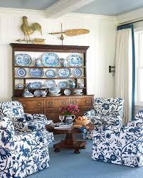 white livingroom furniture beautiful rooms in blue and white traditional home