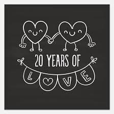 20th anniversary gift 20th wedding anniversary invitations for 20th wedding anniversary