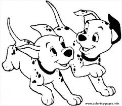 running dalmatians 0bac coloring pages printable