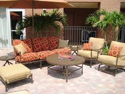 Vintage Style Patio Furniture - vintage style outdoor furniture with patio loveseat cushions chair