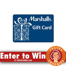 marshall gift card 5 winners win a 1 000 marshall s gift card julie s freebies