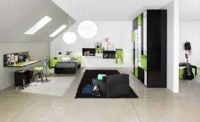 chambre noir et vert design interieur meubles vert et noir design moderne chambre d ado
