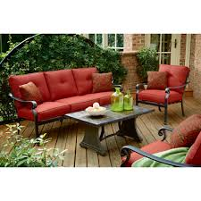 Agio Haywood by Panorama 4 Piece Patio Seating Set Enjoy The Outdoors With Ideas