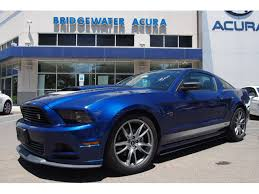 2014 ford mustang roush pre owned 2014 ford mustang roush rs v6 2dr coupe in bridgewater