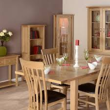 Dining Room Furniture Dining Room Oak Furniture UK - Oak dining room sets with hutch