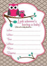 baby owl baby shower invitations invitation ideas