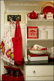 180 best vintage red kitchen images on pinterest red kitchen