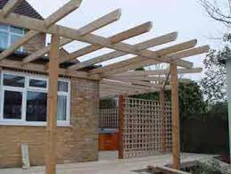 Building A Pergola Attached To The House by How To Build Your Own Pergola Step By Step