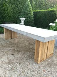 cement table and bench latest craze european outdoor furniture cement adrienne latest craze
