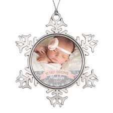 Baby S First Christmas Photo Frame Tree Decoration by Christmas Tree Decorations U0026 Ornaments Zazzle Co Uk