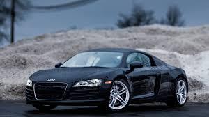 Audi R8 All Black - audi r8 black 554119 walldevil