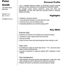 prissy design carpenter resume 6 professional finish carpenter