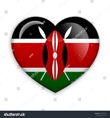 Images Kenya Flag Love Kenya Flag Heart Glossy Button Stock Vector 435630919