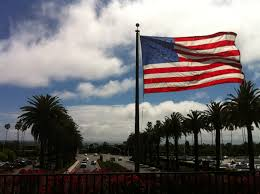 Califirnia Flag For Independence Day U2013 The 4th Of July American Flag On The