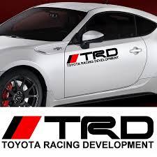 toyota prius logo toyota trd sticker koreasticker com