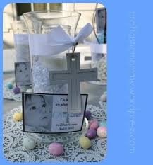 Centerpieces For Boy Baptism by 27 Best Images About Sams Baptism On Pinterest Godchild First