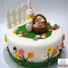 Cute Easter Cake Decorations by Easter Bunny Cake Decorations U2013 Happy Easter 2017