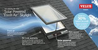 why upgrade to the velux solar powered u201cfresh air u201d skylight