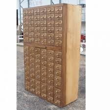 Library File Cabinet Library Index Card Catalog File Wood Cabinet Tag Mesmerizing