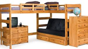 Bunk Bed With Sofa And Desk Bunk Bed With Futon Ikea Home Design Ideas