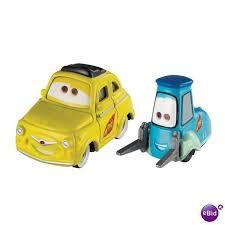cars characters yellow character cars 2 luigi guido disney pixar new 0746775035372 on