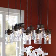 Shop Allen Roth Specialty Bronze by Allen Roth Vallymede 25 47 In Aged Bronze Barn Multi Light Clear