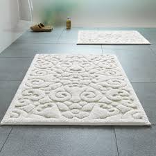 White Bathroom Rug Popular Blue Blue And White Bathroom Rugs Popular With
