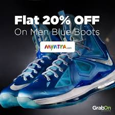 buy boots myntra shop at myntra and get flat 20 on blue boots shopping