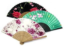 japanese fans japanese fans floral patterns pack of 3 mixed designs co