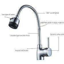 Solid Brass Kitchen Taps by Generic Hose Solid Brass Kitchen Mixer Cold And Kitchen Tap