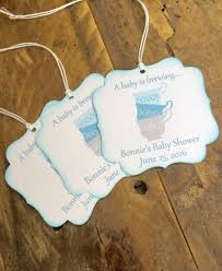 a baby is brewing favor tags love is brewing favor tags tea