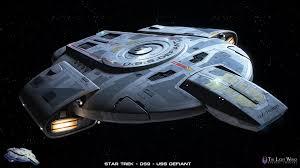 uss defiant starfleet command pinterest star trek and trek