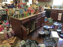 Declutter Kitchen Counters by Trashouttuesday What It Looks Like To Pull Everything Out Of