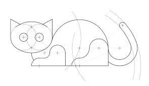 imágenes de gatos fáciles para dibujar dibujos de gatos lindos dibujos de gatos para colorear