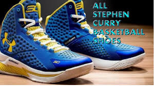 all stephen curry shoes