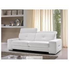 canapé cuir blanc design canapé cuir 2 places toulouse et canapés cuir blanc satis canapés